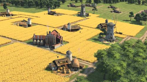 Eine Körnerfarm in Anno 1800