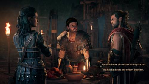 Dialogoptionen im neuen Assassin's Creed Odyssey