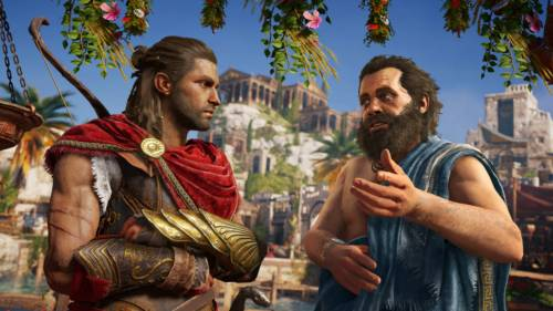Sokrates tauch auf in Assassin's Creed Odyssey
