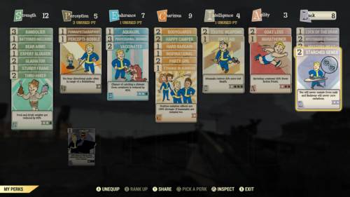 Das Build eines Highlevel-Charakters in Fallout 76