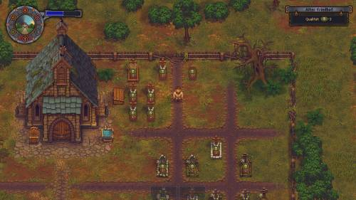 Screenshot aus Graveyard Keeper