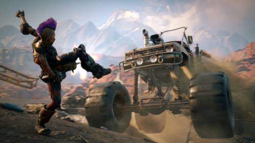 Screenshot aus RAGE 2