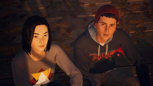Screenshot aus Life is Strange 2: Lyla und Sean