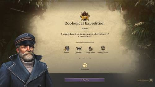 Anno 1800 - Screenshot einer Erkundungsmission