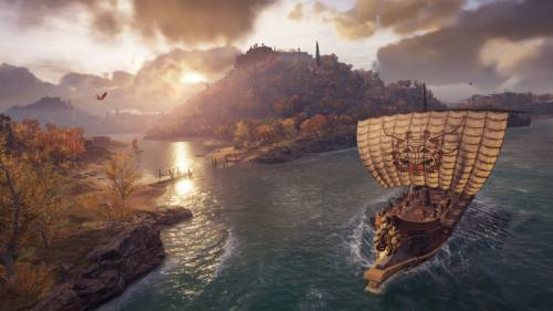Assassin's Creed Odyssey - Screenshot eines Segelausflugs