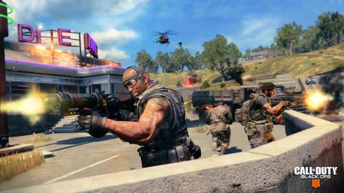 Call of Duty: Black Ops 4 - Screenshot aus dem Battle-Royale-Modus Blackout