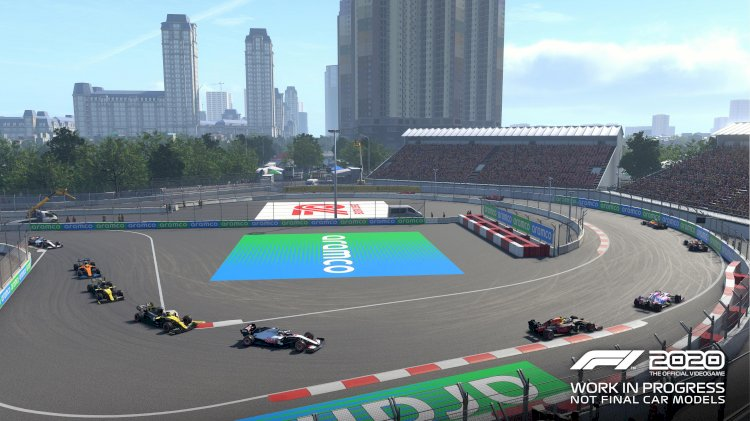 F1 2020 - Screenshots und Video vom Hanoi Street Circuit in Vietnam