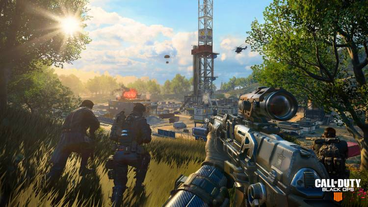 Call of Duty Black Ops 4 - Screenshot aus dem Spielmodus Blackout