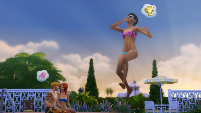 Die Sims 4 - Pools bauen ab November-Update